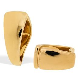 18k Yellow Gold Contemporary Triangle Ring