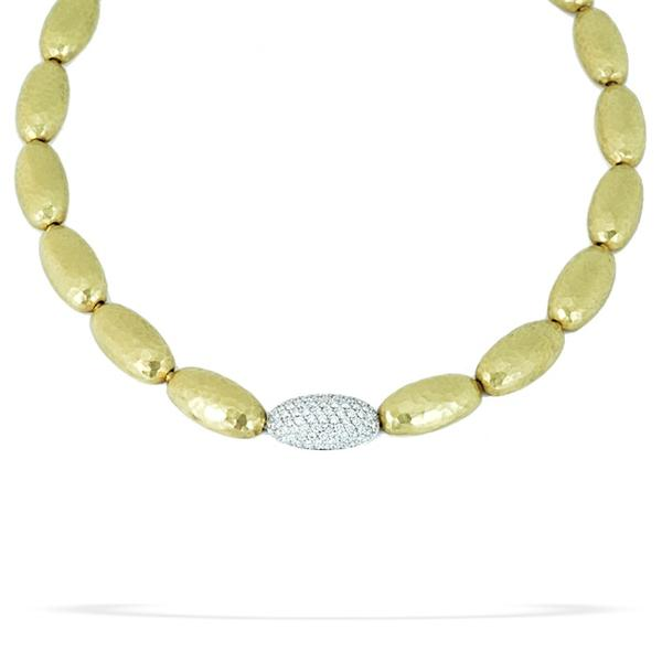 Lomardi 18k Necklace w/ Diamonds