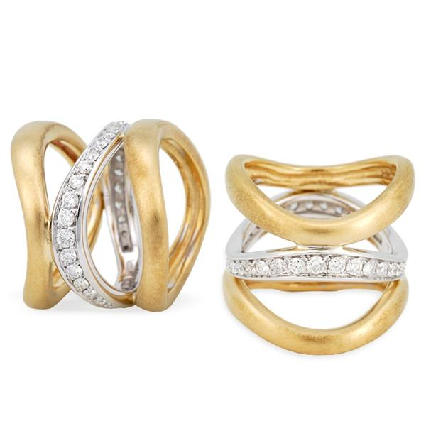 Antonini Two-Toned 18k and Diamond Ring
