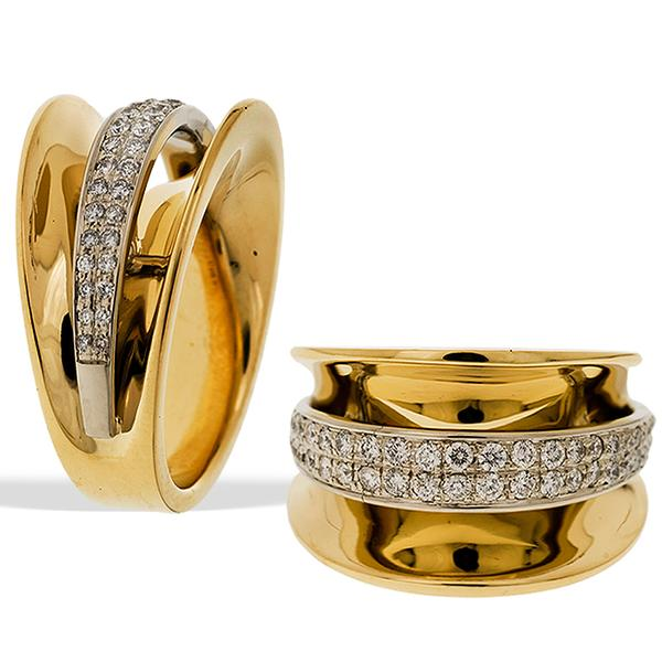 Sakamoto Gold and Diamond Ring