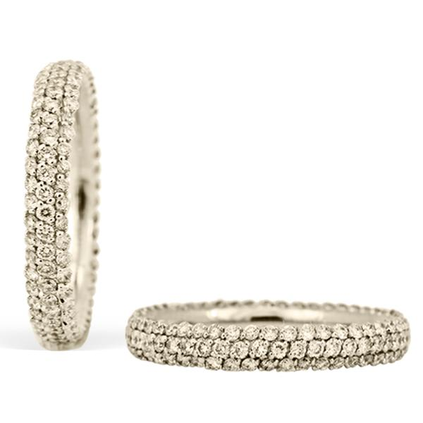 Di Go 18k Eternity Band w/ Diamonds