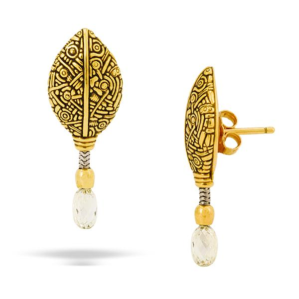 Alex Sepkus 18k Earrings w/ Diamonds