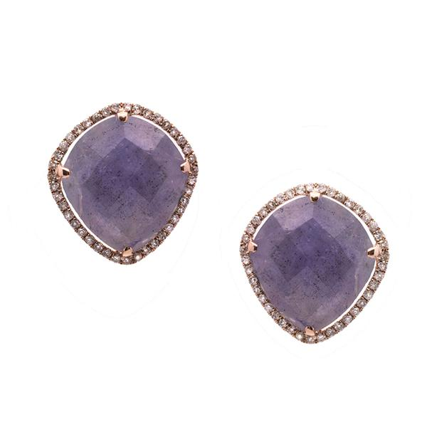 semi xlarge stone browse earrings chan precious luu shopstyle