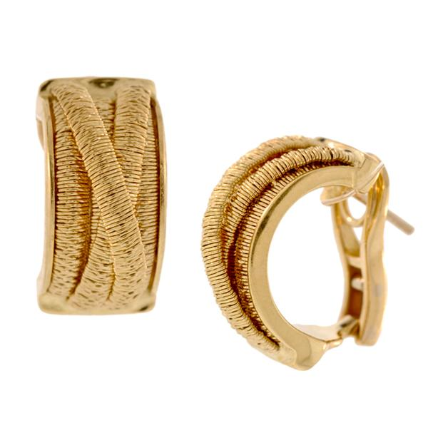 Marco Bicego 5-Strand Crossover 18k Earrings