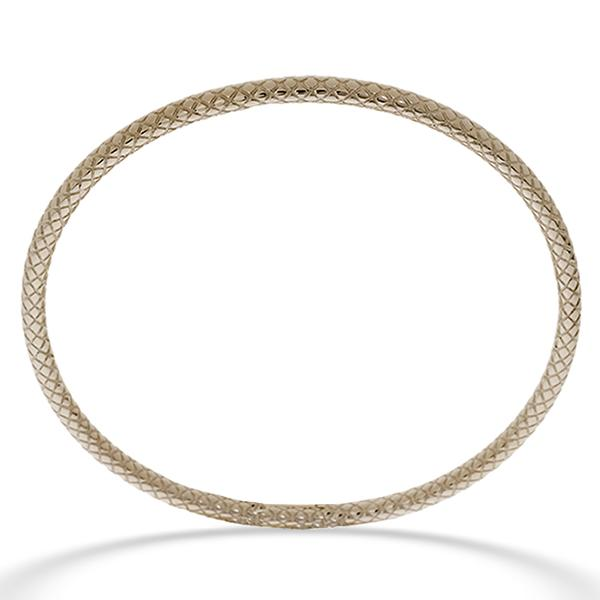 Leslie Greene Sterling Silver Bangle