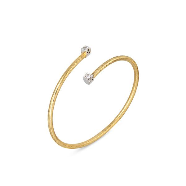 18KT. YELLOW GOLD NOBILE 2MM TWIST BRACELET