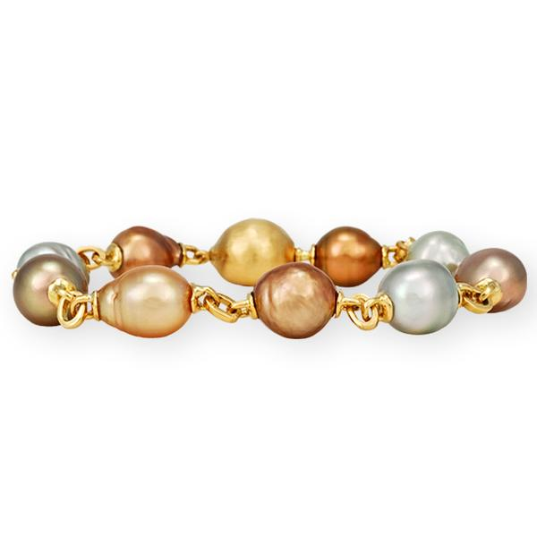 Yvel Baroque South Sea Pearl Bracelet