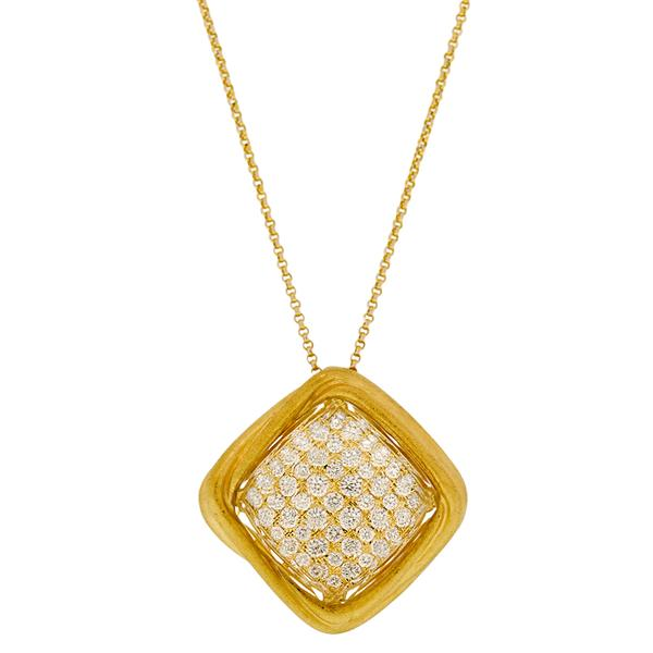 PAVE' DIAMOND NECKLACE