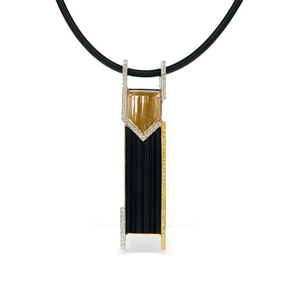 Schneider Design 18k Black Onyx Slide